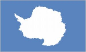 Antarctica Large Country Flag - 3' x 2'.